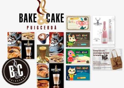 BAKE & CAKE - PUIGCERDÀ - LLIBRESGRÀFICS - IMATGE CORPORATIVA