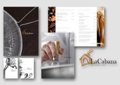 LLIBRESGRAFICS--IMATGE-GRAFICA-RESTAURANT-LA CABANA DE BERGA