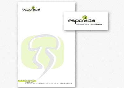 ESPORADA - LLIBRESGRAFICS - IMATGE CORPORATIVA
